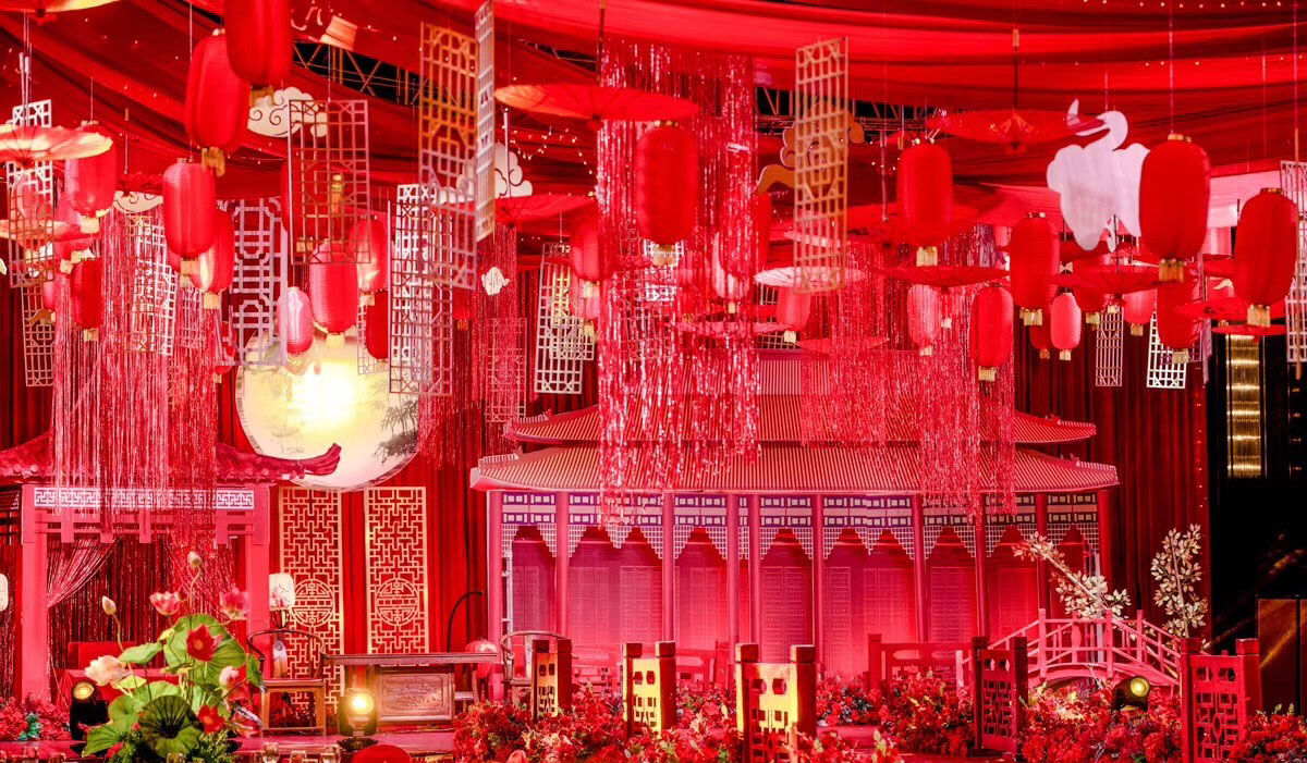 大气的中国风式婚礼—【中式婚礼】案例