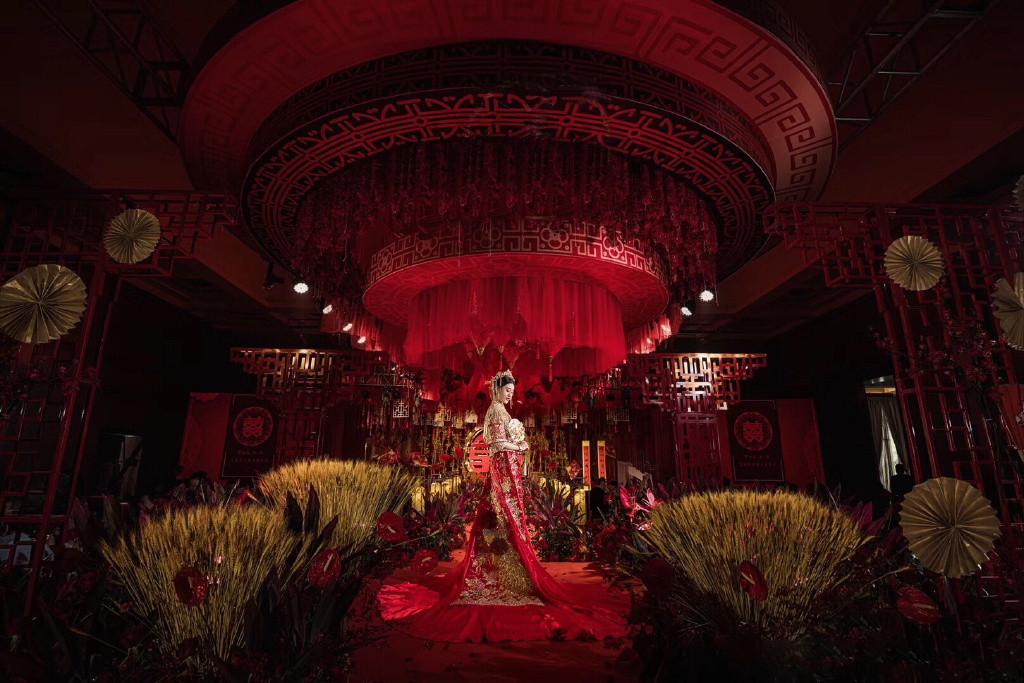 慕梵中式婚礼案例欣赏